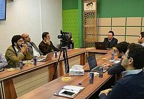 جلسه حلقه اقتصاد تحریم و هسته نوآوری