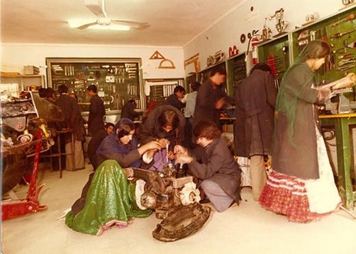 تصویری از مدرسه عشایر