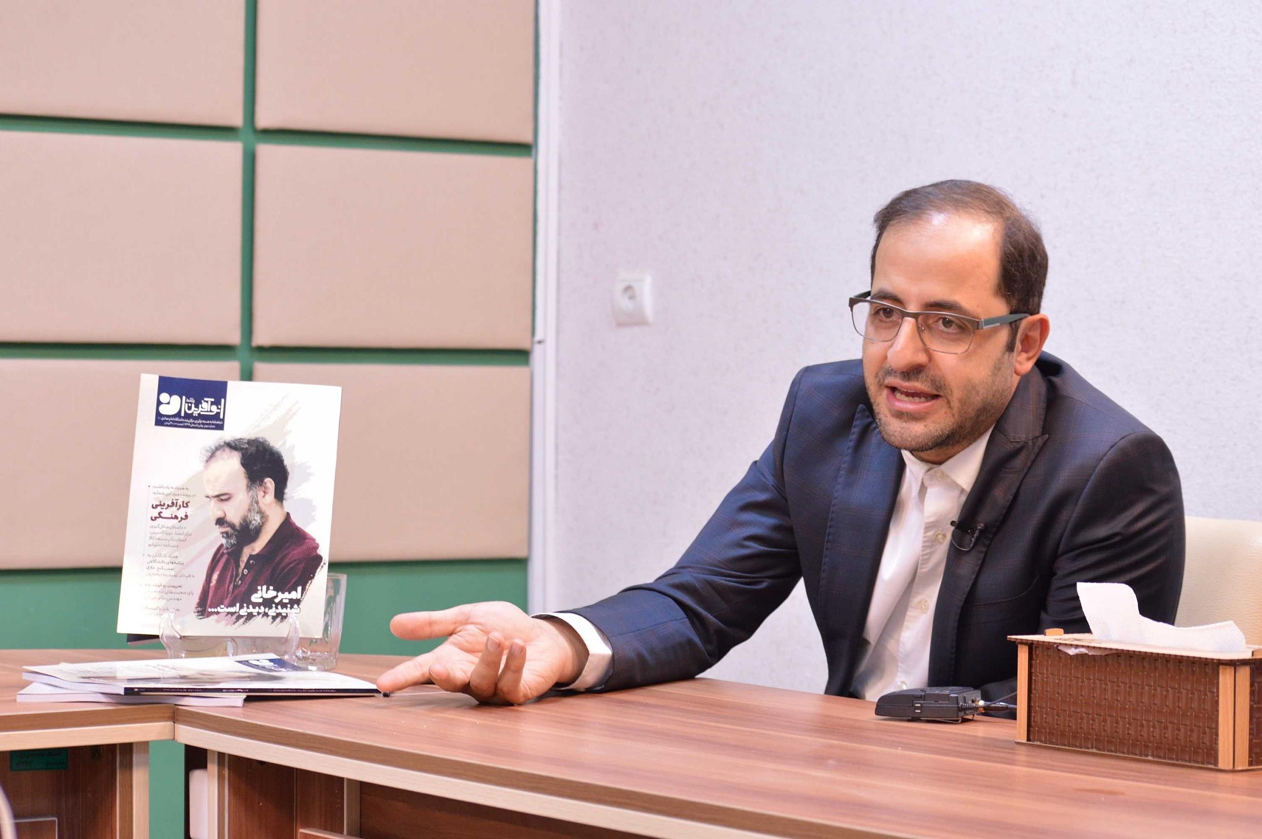 دکتر فاضل نظری در رونمایی نشریه نوآفرین